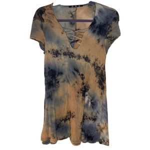 COIN 1804 Anthropologie Womens Tunic Top Size M